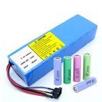 Bateria litium 18650 60V 12AH paketim i baterive skuter i rimbushur me litium jon
