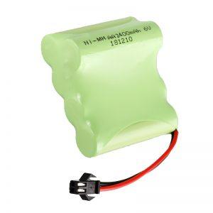 Bateria e rimbushshme e NiMH AA2400 6V Mjete elektrike për rimbushje të energjisë Battery Pack