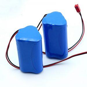 Paketë e rimbushshme e baterive të jonit litium 3S1P 18650 10.8v 2250mah për pajisje mjekësore