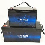 Bateri diellore me cikël të thellë LiFePO4 Bateri jon litium 12V 100Ah / 200Ah