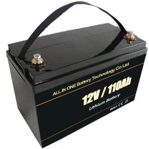 Acid plumbi bateri depozituese diellore 12V 110Ah lifepo4 litium