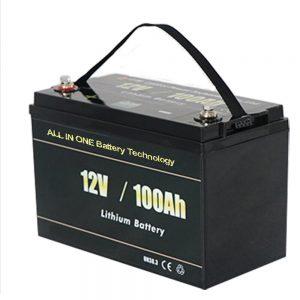 T ALL GJITHA N ONE NJ ONE Paketë baterie litiumi Safest Solar RV 12v 100ah LiFePO4