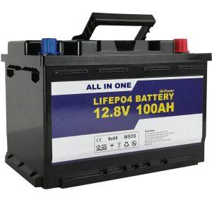 Zëvendësim GEL / AGM Bateri diellore e ruajtjes së energjisë 12v 100ah Bateri jon litium LifePo4