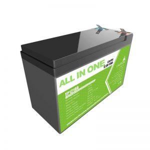 Zëvendësoni baterinë e xhelit acid acid plumbi 12V 10Ah jon litium për dyqan të vogël të energjisë