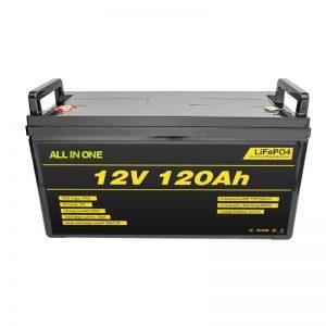 Bateri litiumi Lifepo4 BMS 12v 120ah Bateri jonike litium Lifepo4 12v