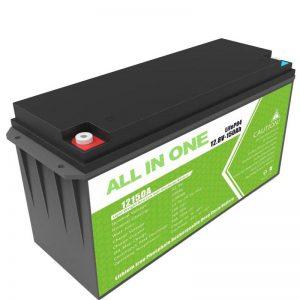 Kapacitet i madh Bateri litiumi 12,8v 150ah për ruajtjen e diellit në shtëpi
