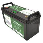Kapacitet i lartë Bateri 12V150Ah LiFePO4 me BMS inteligjente për rondele elektrike të dyshemesë