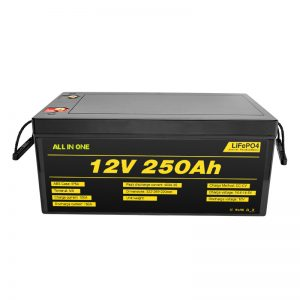 Bateritë më të njohura më të mira të sistemit diellor Paketimi 12V 250Ah LiFePO4 litium Jon
