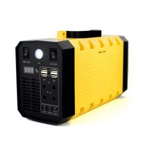 12v 30ah bateri invertori 500w stacion elektrik i lëvizshëm