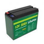 Bateri OEM e Rimbushshme 12V 30Ah 4S5P Lithium 2000+ Cikël i thellë Lifepo4 Cell prodhues