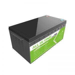 Kapacitet i lartë Cikël i thellë Paketimi i baterive jonik litium 12.8v 400ah Lifepo4