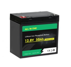 ALL IN ONE Lifepo4 Battery 12v 50ah Deep Cycle