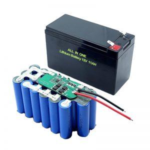 T ALL GJITHA N ONE NJ ONE 18650 Bateri litiumi 3S5P 12Volt 11Ah Paketë baterie litiumi të rikarikueshme