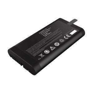 Bateri jonike litium 14.4V 6600mAh 18650 Panasonic për testues të rrjetit me port komunikimi SMBUS