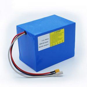 Bateria litium 18650 48V 20.8AH për biçikleta elektrike dhe çantë biçikletë