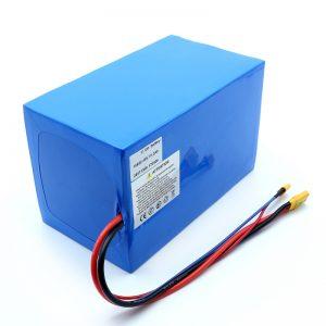 Bateria e litiumit 18650 48V 51.2AH 24v 30V 60V 15ah 20Ah 50Ah Bateritë e Li-jonit 18650 48V Paketimi i baterive jon litium për skuter elektrik
