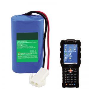18650 Bateri litiumi 7.2V 2.6Ah për pajisjet terminale dore të logjistikës Express