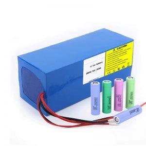 Bateria litium 18650 72V 20Ah Shkalla e ulët e shkarkimit 18650 72v 20ah bateri litium për motorët elektrikë