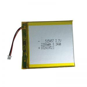 Bateri litiumi polimer 3.7V 2200mAh për pajisje shtëpiake inteligjente