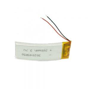 Bateria e personalizuar LiPO 302045 3.7V 260mAh