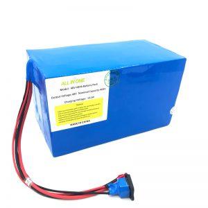 Paketë e baterive litium të personalizuar 18650 48V 40Ah për biçikletë elektronike, varkë elektronike, skuter elektrik