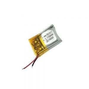 Bateri litium polimer me cilësi të lartë 3.7V 50mAh 581013