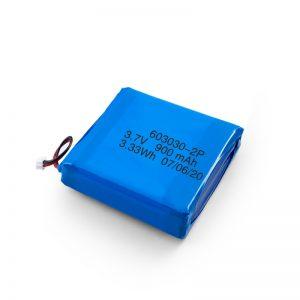 Bateri Li-Po Lipo e Rimbushshme e Përshtatshme 3.7V 450 530 550 700 750 800 900Mah