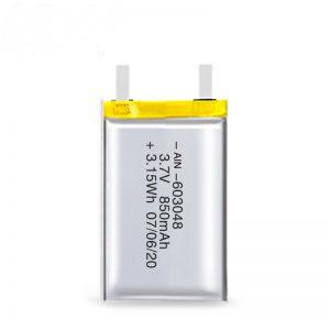 Bateria e riparueshme LiPO 603048 3.7V 850mAh / 3.7V 1700mAH / 7.4V 850mAH