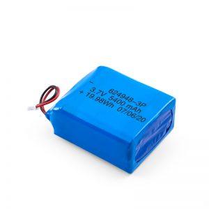 Bateria e riparueshme LiPO 624948 3.7V 1800mAH / 3.7V 5400mAH