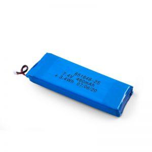 Bateria e riparueshme LiPO 651648 3.7V 460mAh / 3.7V 920mAH / 7.4V 460mAH