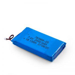 Bateria e riparueshme LiPO 783968 3.7V 4900mAH / 7.4V 2450mAH / 3.7V 2450mAH /