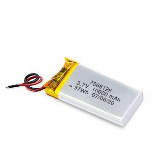 Bateria e riparueshme LiPO 7866120 3.7V 10000mAh / 3.7V 20000mAH / 7.4V 10000mAh