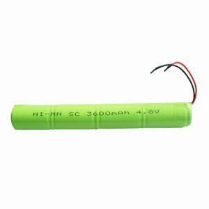 Bateria e riparueshme e NiMH SC 3600mAH 4.8V