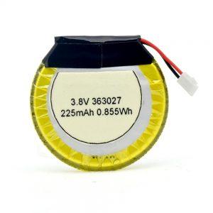 Bateria e personalizuar LiPO 363027 3.7V 225mAH