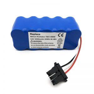 Bateri 12v ni-mh për fshesë me korrent TEC-5500, TEC-5521, TEC-5531, TEC-7621, TEC-7631